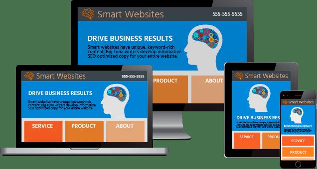 Big Tuna Responsive Website Design Web Marketing