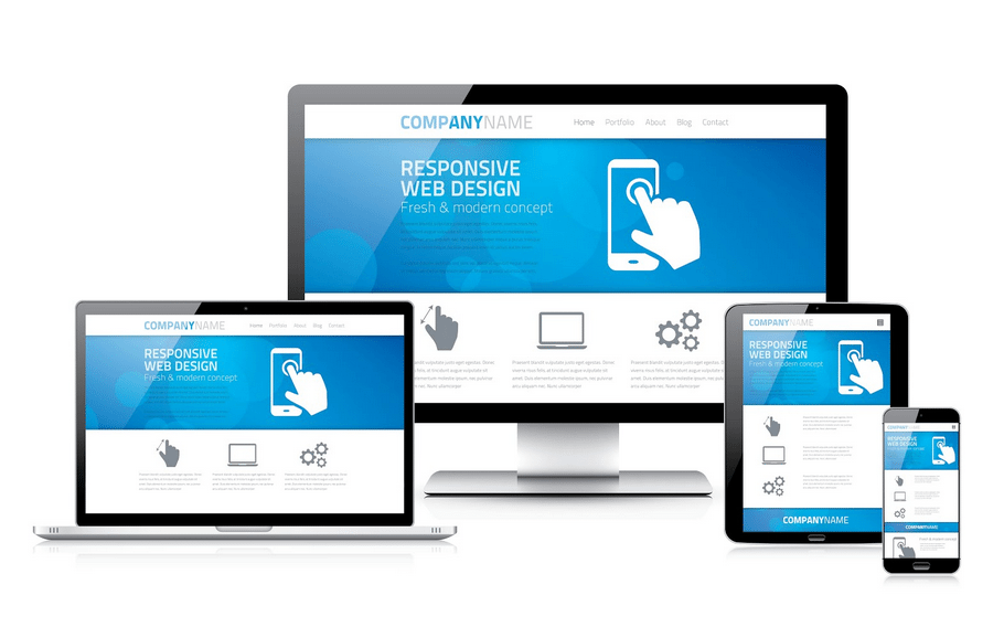 Low-Cost Responsive Website for Small Business
